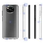 قاب شفاف Xiaomi Poco X3 NFC مدل شیشه ای - ژله ای