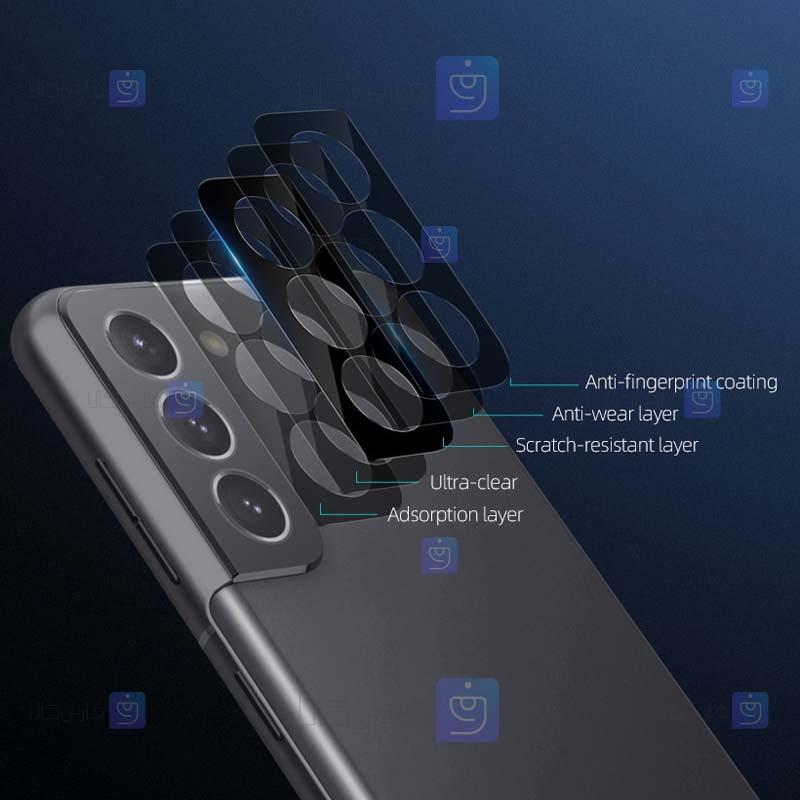 محافظ لنز دوربین دوتایی نیلکین سامسونگ Nillkin InvisiFilm camera protector for Samsung Galaxy S21 plus