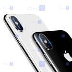 محافظ لنز دوربین دوتایی نیلکین آیفون Nillkin InvisiFilm camera protector for Apple iPhone Xs Max
