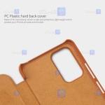 کیف چرمی نیلکین Xiaomi Redmi Note 10 Pro Max مدل Qin