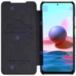 کیف محافظ چرمی نیلکین شیائومی Nillkin Qin Case For Xiaomi Redmi Note 10s