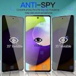 گلس حریم شخصی تمام چسب با پوشش کامل سامسونگ Privacy Full Screen Protector for Samsung Galaxy A52