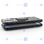 قاب محافظ ضد ضربه انگشتی هواوی Ring Holder Iron Man Armor Case Huawei Nova 8 SE