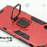 قاب محافظ ضد ضربه انگشتی موتورولا Ring Holder Iron Man Armor Case Motorola Moto G 5G Plus