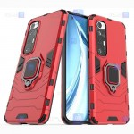 قاب محافظ ضد ضربه انگشتی شیائومی Ring Holder Iron Man Armor Case Xiaomi Mi 10S