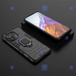 قاب محافظ ضد ضربه انگشتی شیائومی Ring Holder Iron Man Armor Case Xiaomi Mi 11 Pro