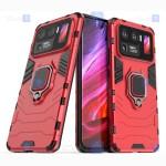 قاب محافظ ضد ضربه انگشتی شیائومی Ring Holder Iron Man Armor Case Xiaomi Mi 11 Ultra