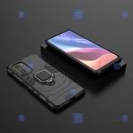 قاب محافظ ضد ضربه انگشتی شیائومی Ring Holder Iron Man Armor Case Xiaomi Redmi K40 Pro