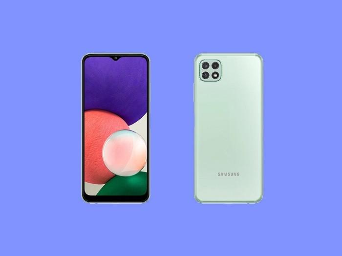 گوشی Samsung Galaxy A22 5G دو سیم کارت با ظرفیت 128 گیگابایت