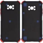 قاب محافظ ژله ای ضد ضربه با محافظ لنز شیائومی Shockproof Cover Case For Xiaomi Poco X3 Pro