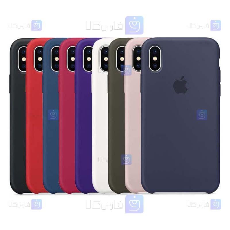 قاب سیلیکونی Apple iPhone XS