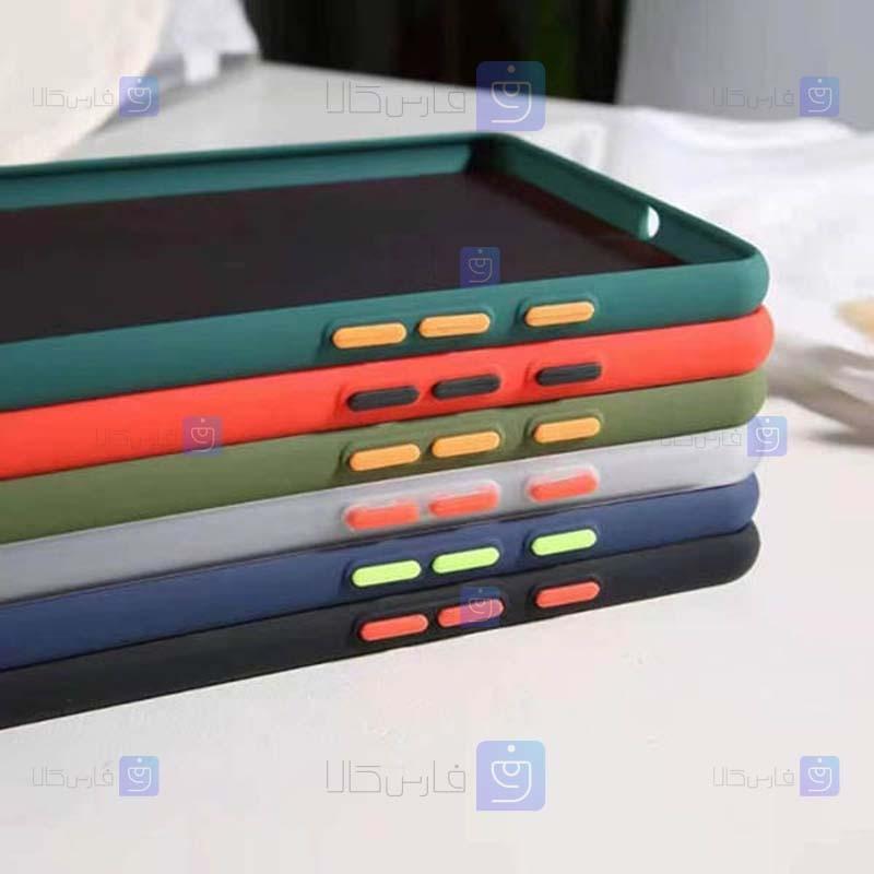 کاور پشت مات Transparent Hybrid Case Huawei MatePad T10