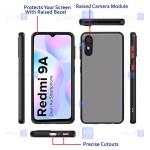 کاور پشت مات Xiaomi Redmi 9A مدل محافظ لنزدار
