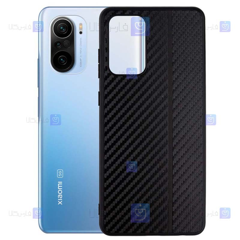 قاب کربنی Xiaomi Poco F3 مدل Carbon Shield
