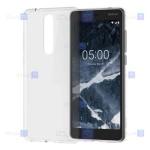 قاب ژله ای Nokia 5.1 مدل شفاف