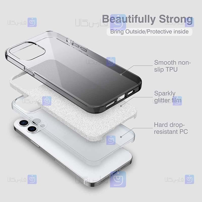 قاب ژله ای Apple iPhone 12 Pro Max مدل اکلیلی