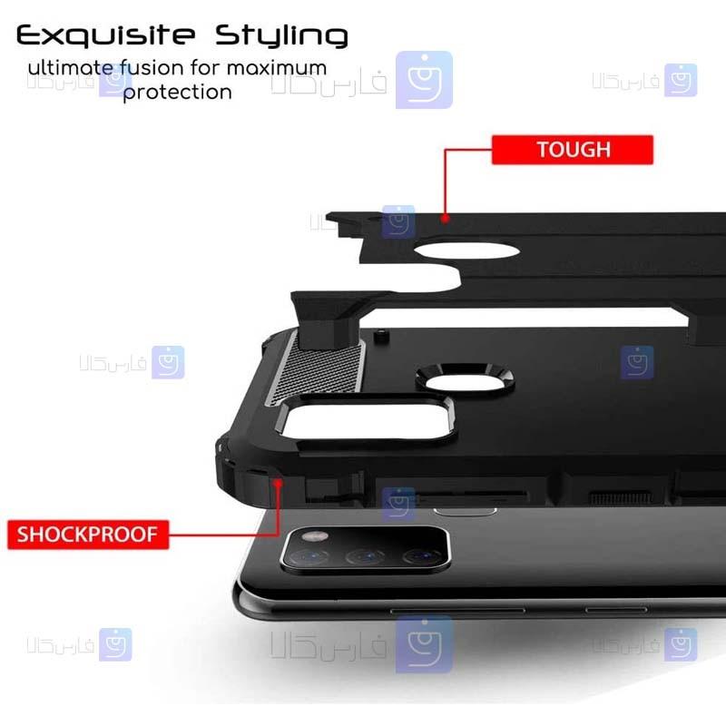 قاب ضد ضربه Samsung Galaxy A21s مدل Hard Shell