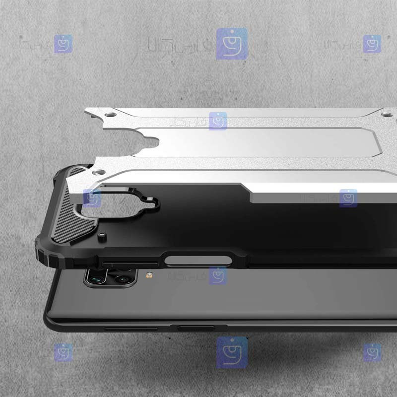 قاب ضد ضربه Xiaomi Redmi Note 9s مدل Hard Shell