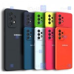 قاب سیلیکونی Samsung Galaxy A72 5G / 4G مدل محافظ لنز دار