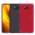 قاب سیلیکونی Xiaomi Poco X3 NFC مدل محافظ لنز دار