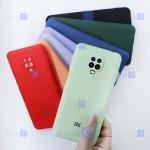 قاب سیلیکونی Xiaomi Redmi Note 9 Pro Max مدل محافظ لنز دار