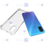 قاب کپسول دار Samsung Galaxy M21 مدل شیشه ای - ژله ای