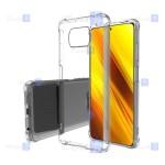 قاب کپسول دار Xiaomi Poco X3 NFC مدل شیشه ای - ژله ای