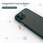 کاور پشت مات Apple iPhone 11 Pro مدل محافظ لنزدار