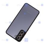 کاور پشت مات Samsung Galaxy S21 plus مدل محافظ لنزدار