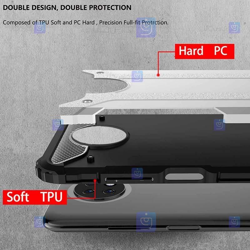 قاب ضد ضربه Xiaomi Redmi Note 9 5G مدل Hard Shell