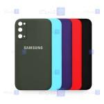 قاب سیلیکونی Samsung Galaxy S20 FE مدل محافظ لنز دار