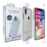 قاب شیشه ای – ژله ای Apple iPhone Xs Max مدل Space Collection