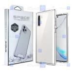 قاب شیشه ای – ژله ای Samsung Galaxy Note 10 Plus مدل Space Collection
