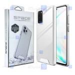 قاب شیشه ای – ژله ای Samsung Galaxy Note 20 مدل Space Collection
