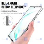 قاب شیشه ای – ژله ای Samsung Galaxy Note 20 Ultra مدل Space Collection