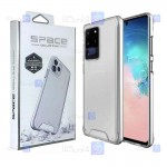 قاب شیشه ای – ژله ای Samsung Galaxy S20 Ultra مدل Space Collection