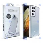 قاب شیشه ای – ژله ای Samsung Galaxy S21 Ultra مدل Space Collection