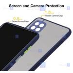 کاور پشت مات Samsung Galaxy A22 5G مدل محافظ لنزدار